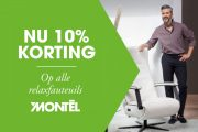 10% korting op alle relaxfauteuils bij Montèl!