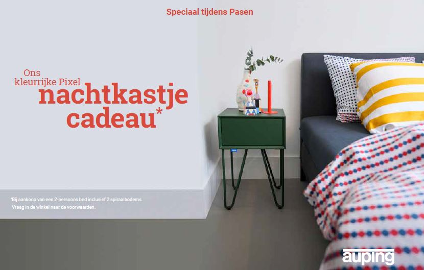 Auping paasactie