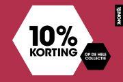 10% korting bij Montèl!