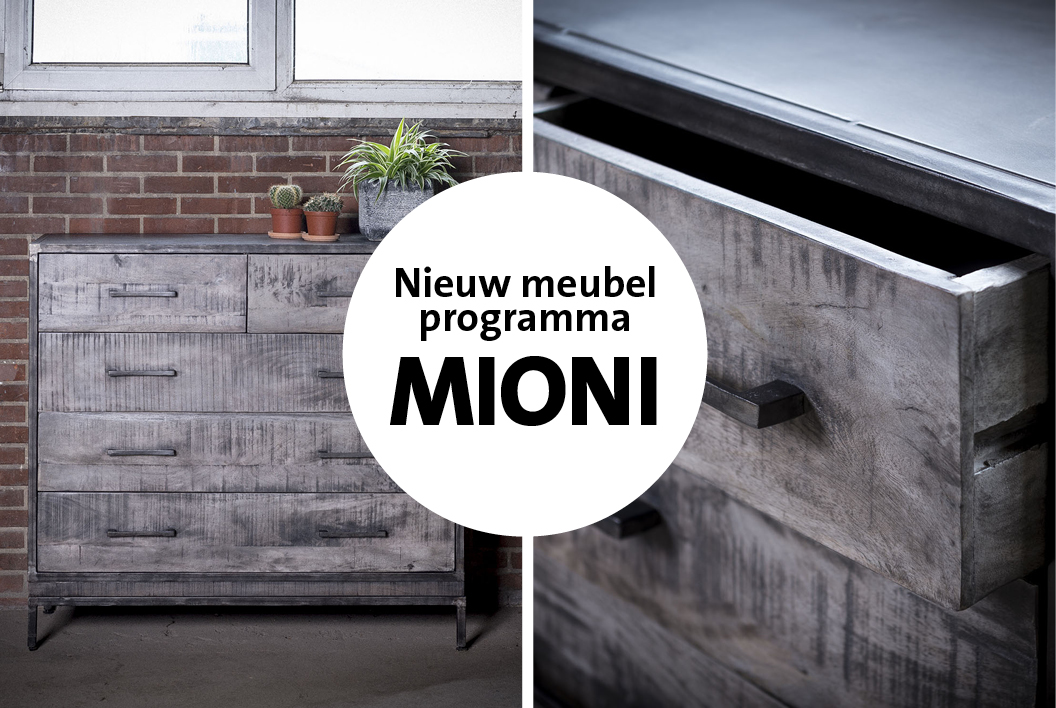 Ruff Metal: nieuw Mioni meubelprogramma