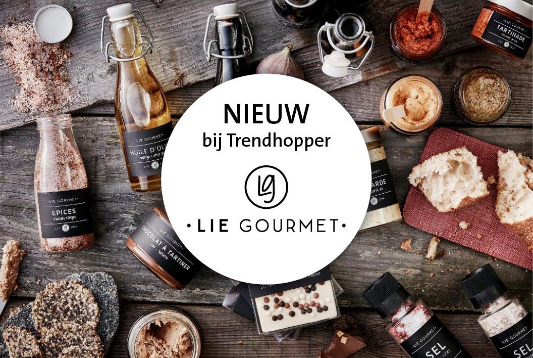 Nieuw bij Trendhopper: Lie Gourmet