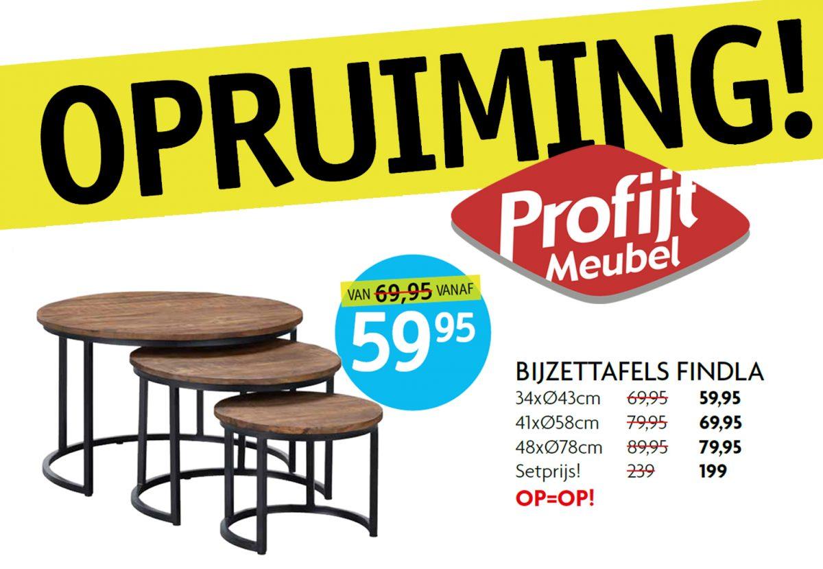 Opruiming bij Profijt Meubel!