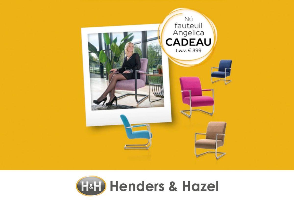 Fauteuil Angelica cadeau bij Henders & Hazel!...