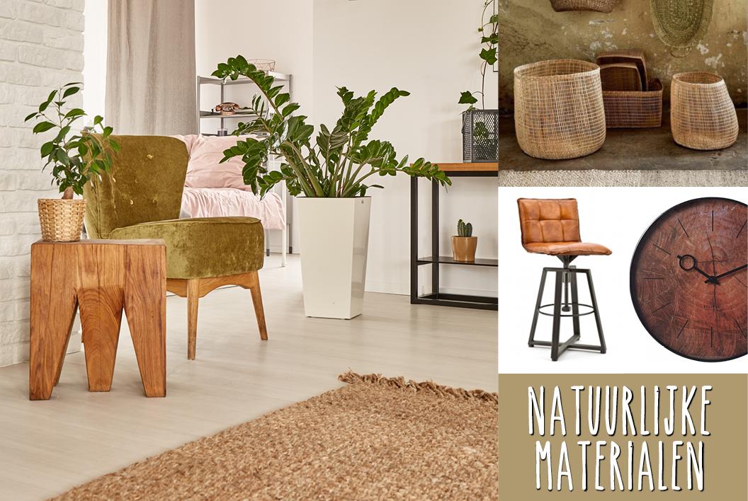 Matras Natuurlijke Materialen : Natuurlijke materialen in je interieur woonboulevard oldenzaal